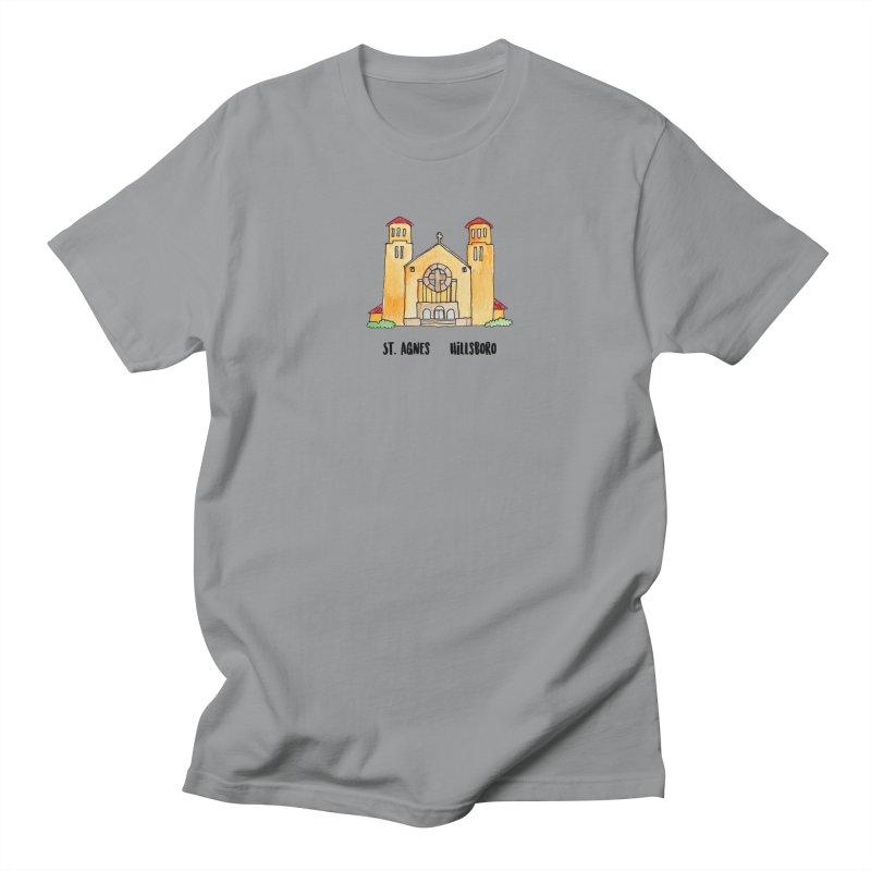 St Agnes Hillsboro Women's Regular Unisex T-Shirt by jodilynndoodles's Artist Shop