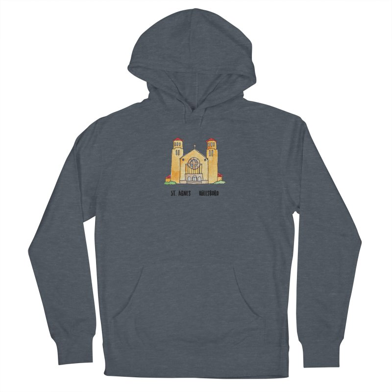 St Agnes Hillsboro Men's French Terry Pullover Hoody by jodilynndoodles's Artist Shop