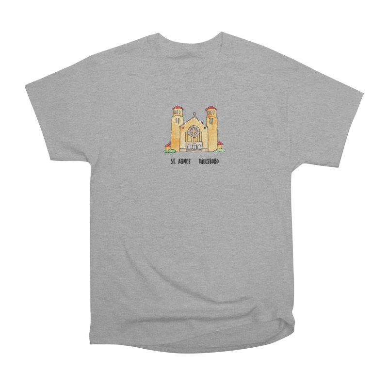 St Agnes Hillsboro Men's Heavyweight T-Shirt by jodilynndoodles's Artist Shop