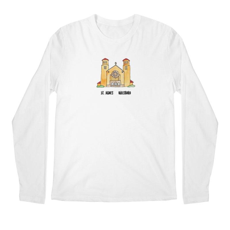 St Agnes Hillsboro Men's Regular Longsleeve T-Shirt by jodilynndoodles's Artist Shop