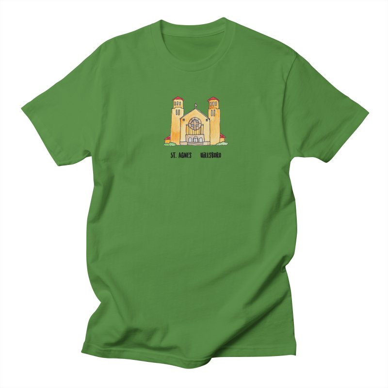 St Agnes Hillsboro Men's Regular T-Shirt by Jodilynn Doodles's Artist Shop