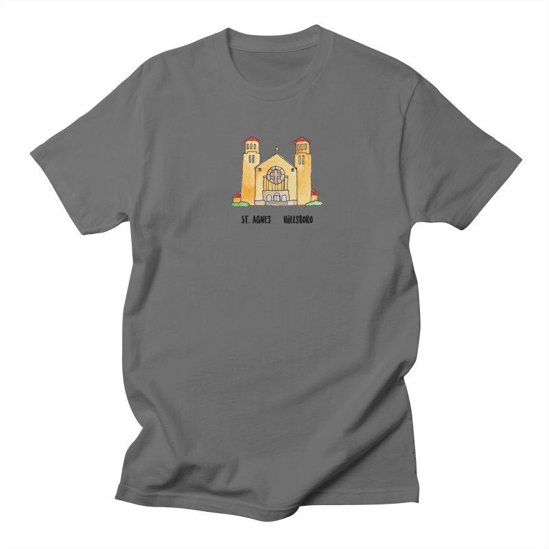 St Agnes Hillsboro Men's T-Shirt by Jodilynn Doodles's Artist Shop