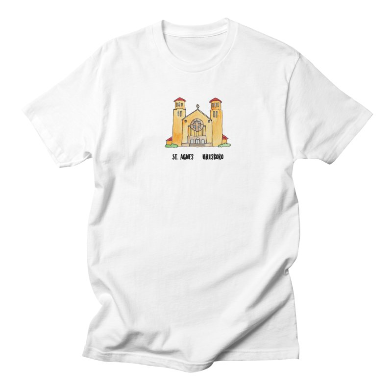 St Agnes Hillsboro Men's Regular T-Shirt by jodilynndoodles's Artist Shop