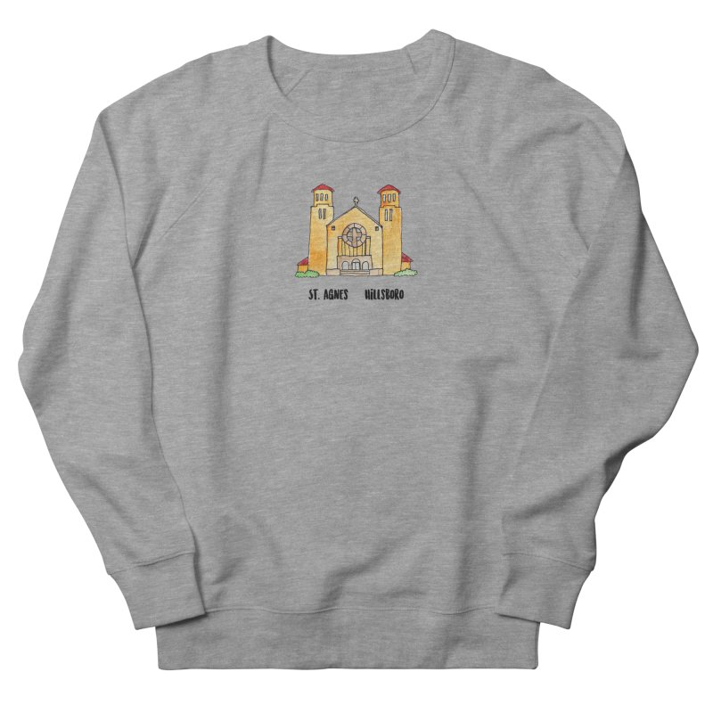 St Agnes Hillsboro Men's French Terry Sweatshirt by Jodilynn Doodles's Artist Shop