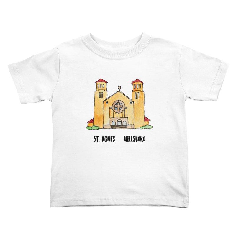 St Agnes Hillsboro Kids Toddler T-Shirt by Jodilynn Doodles's Artist Shop