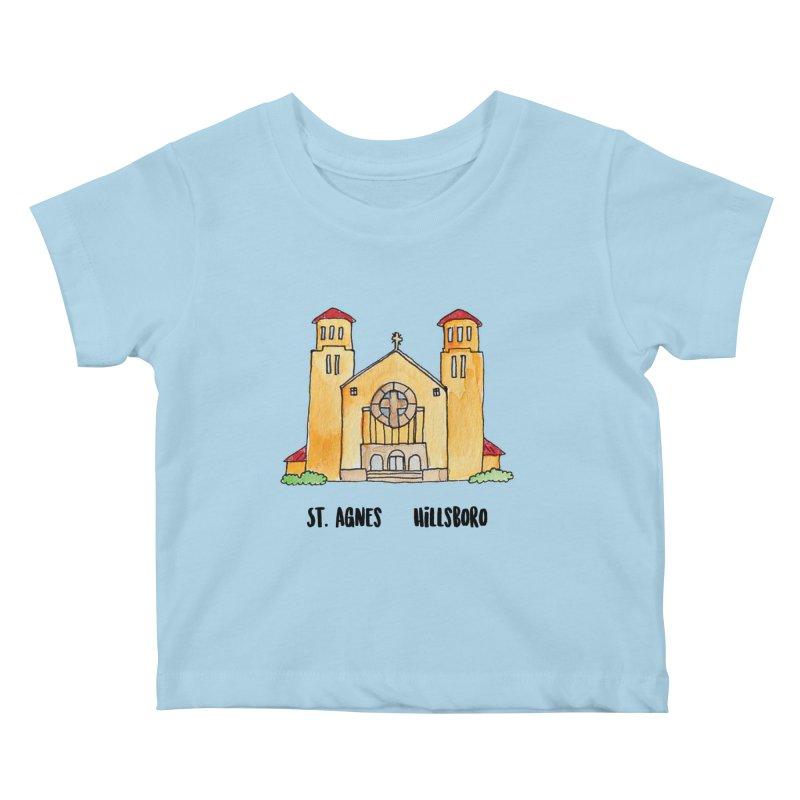 St Agnes Hillsboro Kids Baby T-Shirt by Jodilynn Doodles's Artist Shop