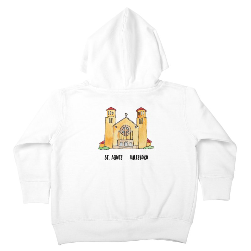 St Agnes Hillsboro Kids Toddler Zip-Up Hoody by Jodilynn Doodles's Artist Shop