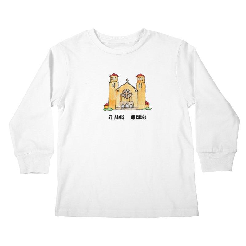 St Agnes Hillsboro Kids Longsleeve T-Shirt by jodilynndoodles's Artist Shop