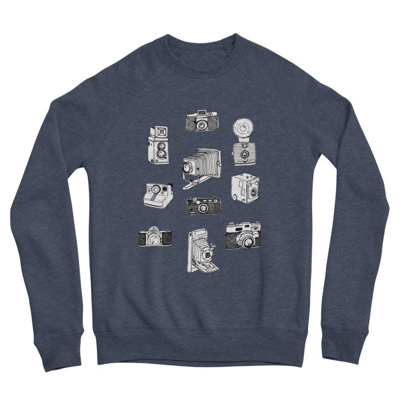 Vintage Cameras Men's Sponge Fleece Sweatshirt by Jodilynn Doodles's Artist Shop