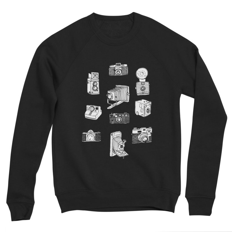 Vintage Cameras Women's Sponge Fleece Sweatshirt by Jodilynn Doodles's Artist Shop