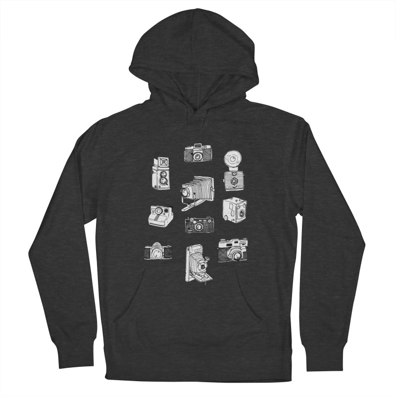 Vintage Cameras Women's French Terry Pullover Hoody by Jodilynn Doodles's Artist Shop