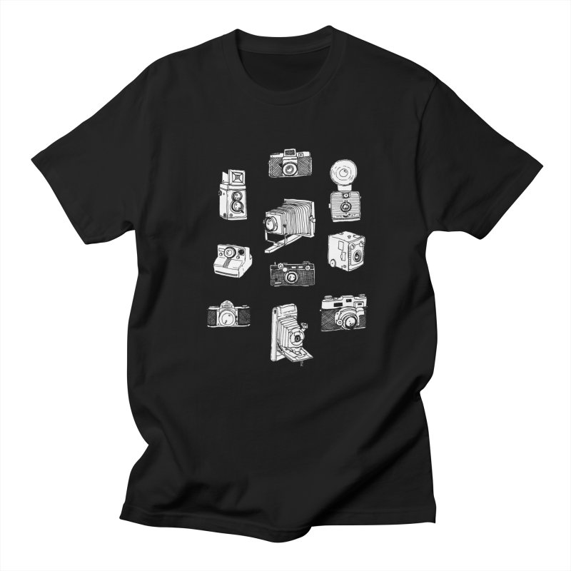 Vintage Cameras Men's Regular T-Shirt by jodilynndoodles's Artist Shop