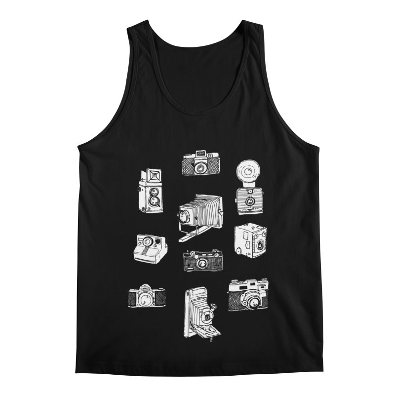 Vintage Cameras Men's Regular Tank by Jodilynn Doodles's Artist Shop