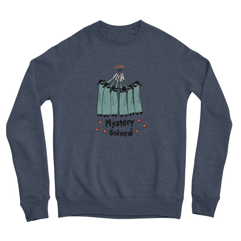 Mystery Solved! Women's Sponge Fleece Sweatshirt by jodilynndoodles's Artist Shop