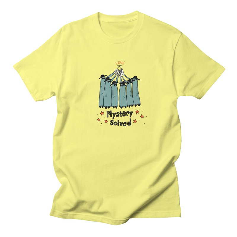 Mystery Solved! Men's Regular T-Shirt by jodilynndoodles's Artist Shop