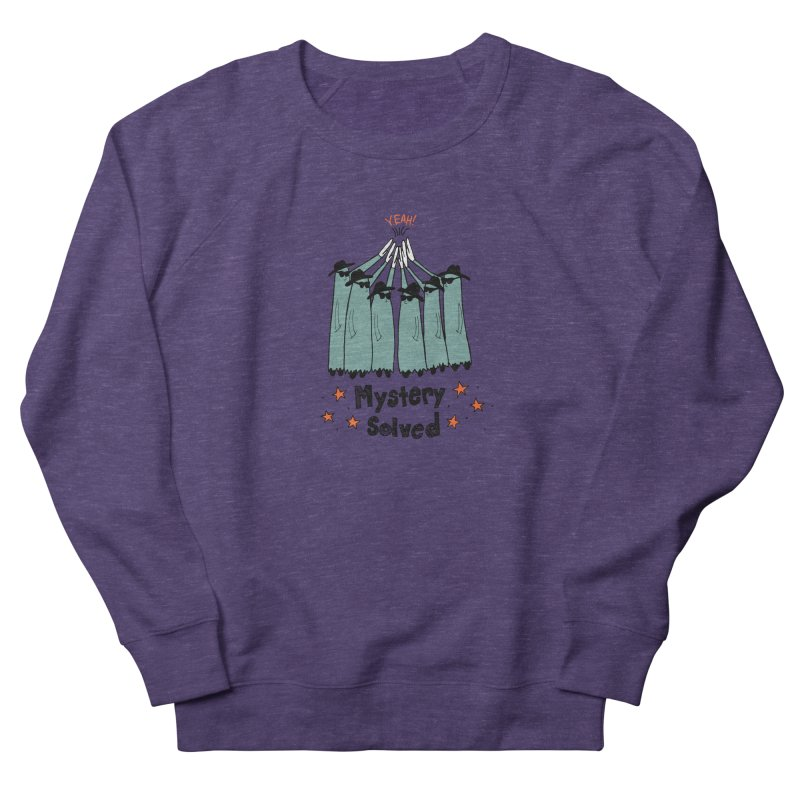 Mystery Solved! Women's French Terry Sweatshirt by jodilynndoodles's Artist Shop