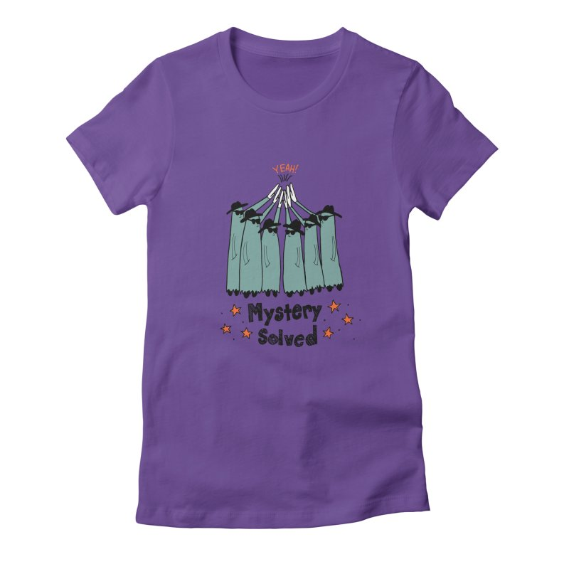 Mystery Solved! Women's Fitted T-Shirt by jodilynndoodles's Artist Shop