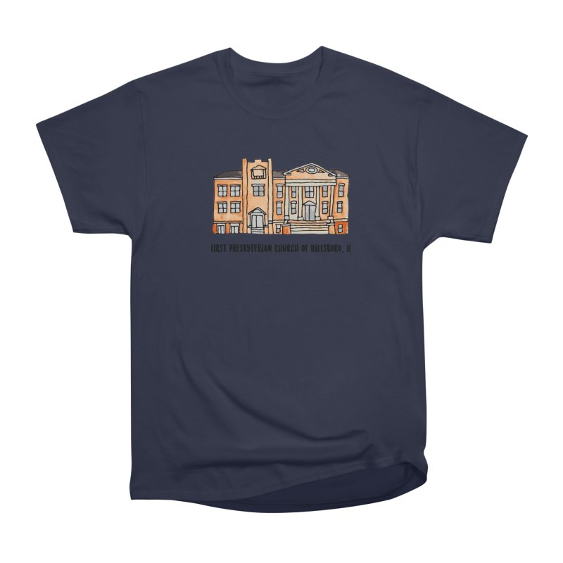 First presbyterian church Men's Heavyweight T-Shirt by jodilynndoodles's Artist Shop