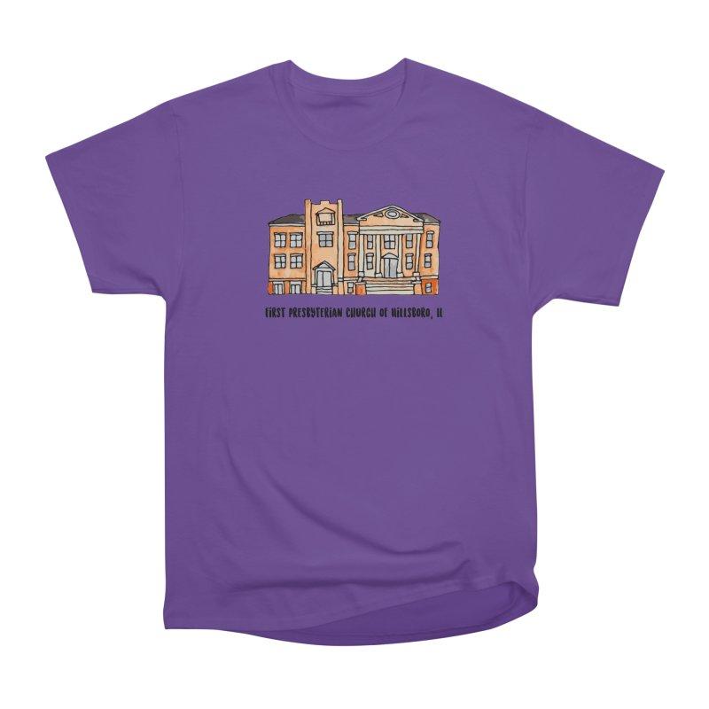 First presbyterian church Women's Heavyweight Unisex T-Shirt by jodilynndoodles's Artist Shop