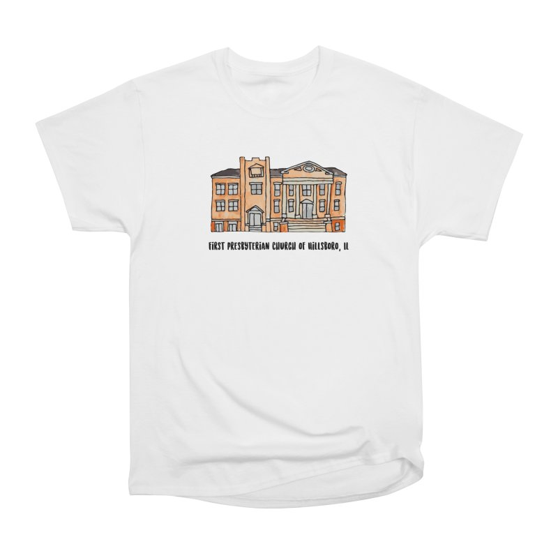 First presbyterian church Women's Heavyweight Unisex T-Shirt by Jodilynn Doodles's Artist Shop