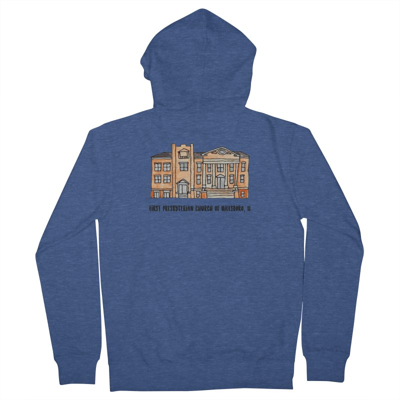 First presbyterian church Women's French Terry Zip-Up Hoody by jodilynndoodles's Artist Shop