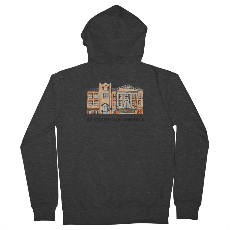 First presbyterian church Men's French Terry Zip-Up Hoody by jodilynndoodles's Artist Shop