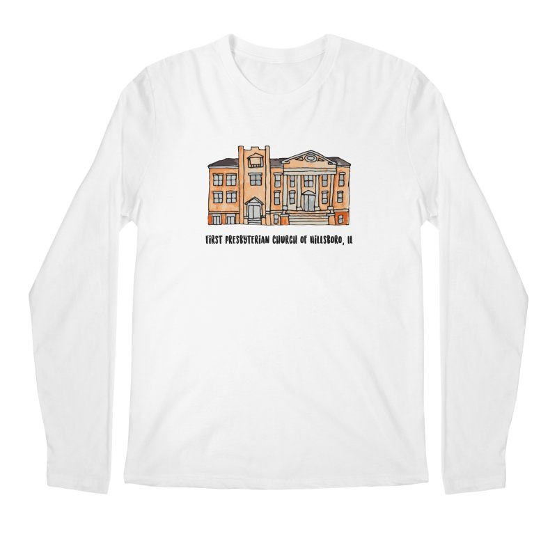 First presbyterian church Men's Regular Longsleeve T-Shirt by jodilynndoodles's Artist Shop
