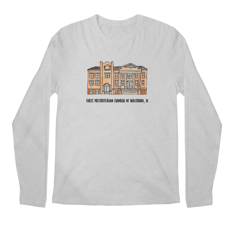 First presbyterian church Men's Regular Longsleeve T-Shirt by Jodilynn Doodles's Artist Shop