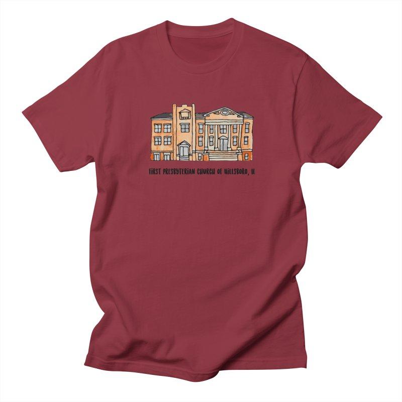 First presbyterian church Women's Regular Unisex T-Shirt by jodilynndoodles's Artist Shop