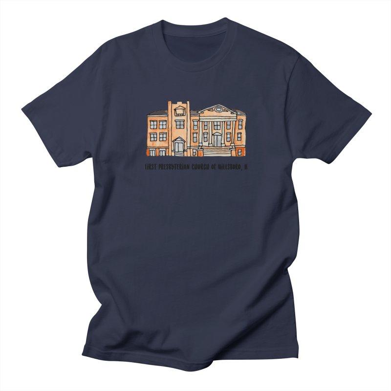 First presbyterian church Women's Regular Unisex T-Shirt by Jodilynn Doodles's Artist Shop