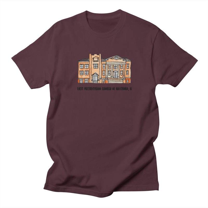 First presbyterian church Men's Regular T-Shirt by jodilynndoodles's Artist Shop