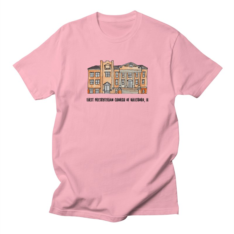 First presbyterian church Men's Regular T-Shirt by Jodilynn Doodles's Artist Shop