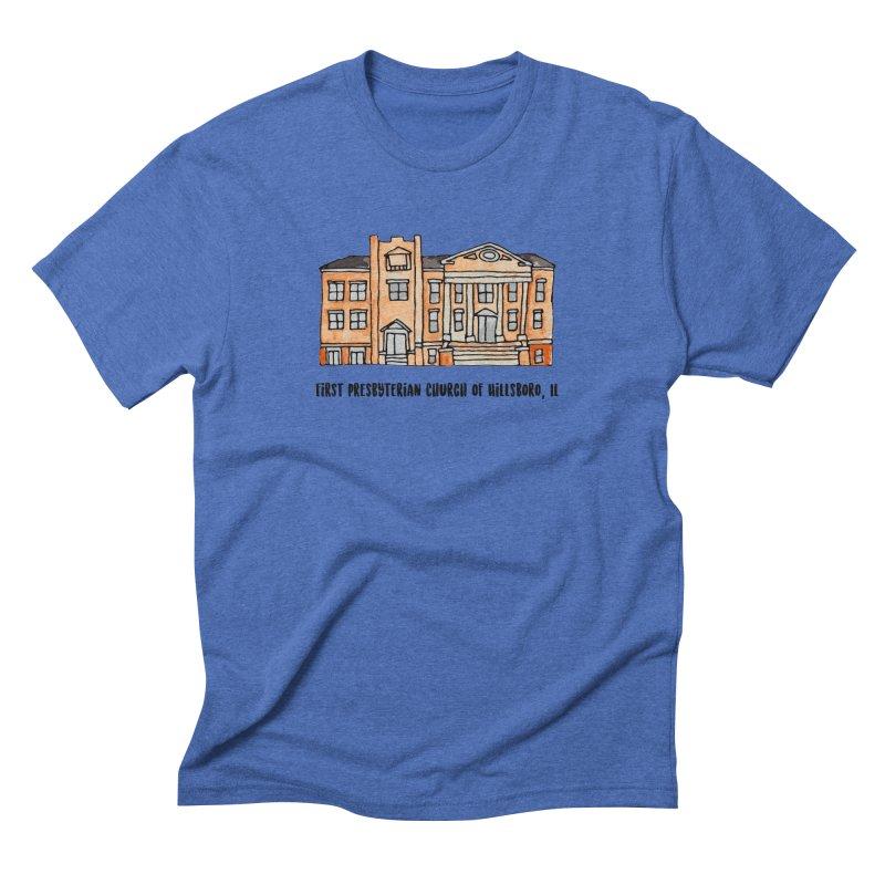 First presbyterian church Men's Triblend T-Shirt by Jodilynn Doodles's Artist Shop