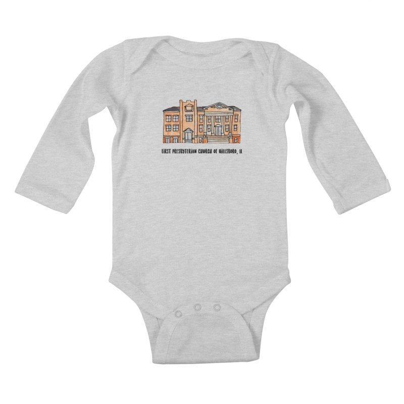 First presbyterian church Kids Baby Longsleeve Bodysuit by Jodilynn Doodles's Artist Shop