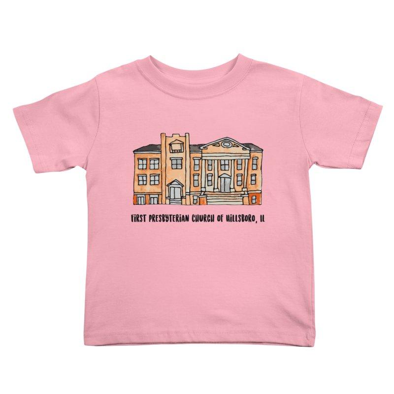 First presbyterian church Kids Toddler T-Shirt by jodilynndoodles's Artist Shop