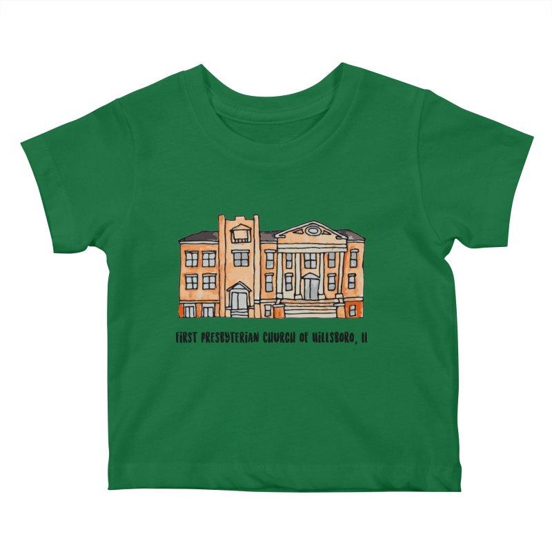 First presbyterian church Kids Baby T-Shirt by Jodilynn Doodles's Artist Shop