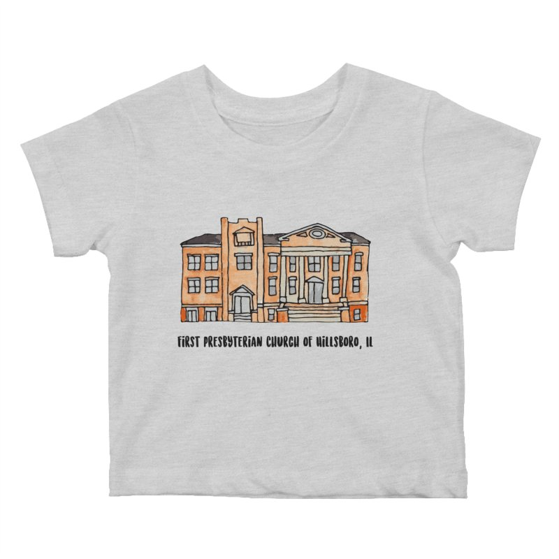 First presbyterian church Kids Baby T-Shirt by jodilynndoodles's Artist Shop