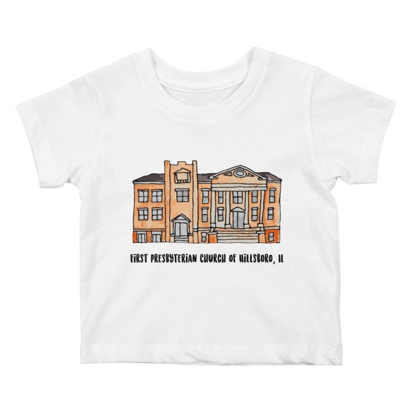 First presbyterian church Kids Baby T-Shirt by jodilynndoodles's Artist Shop