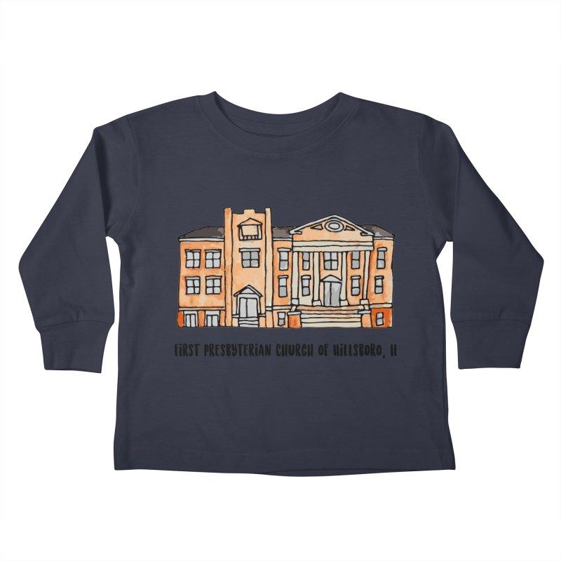 First presbyterian church Kids Toddler Longsleeve T-Shirt by Jodilynn Doodles's Artist Shop