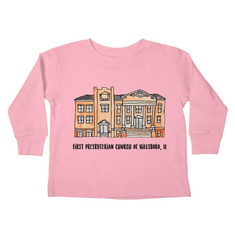First presbyterian church Kids Toddler Longsleeve T-Shirt by jodilynndoodles's Artist Shop