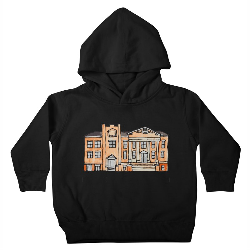 First presbyterian church Kids Toddler Pullover Hoody by Jodilynn Doodles's Artist Shop