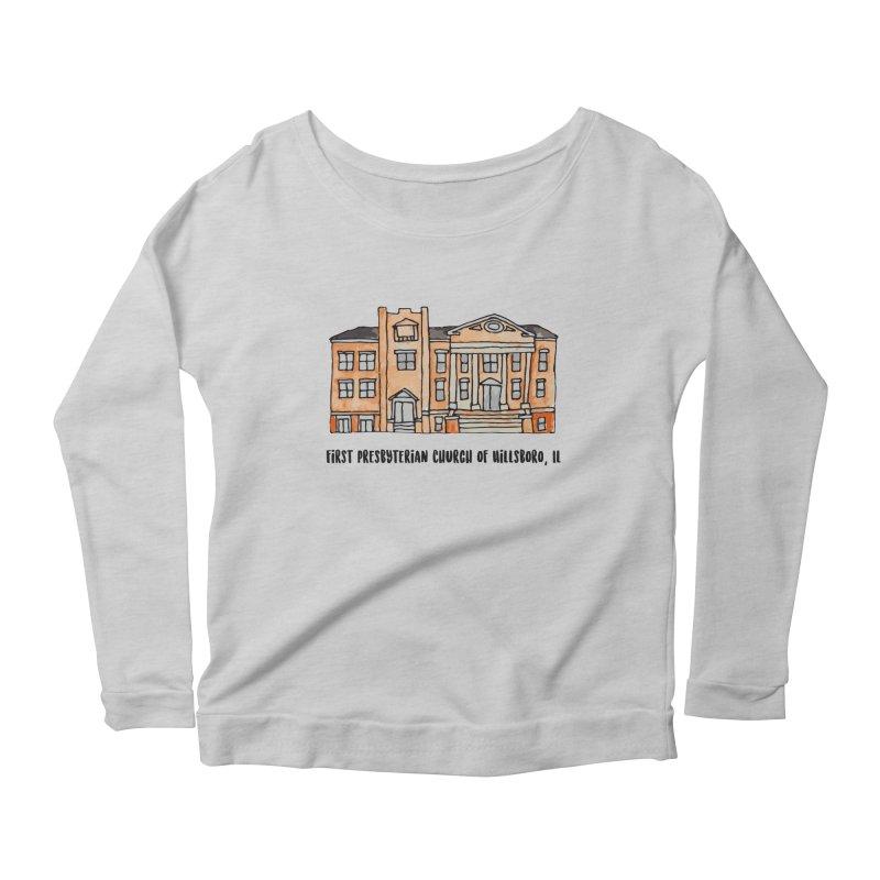 First presbyterian church Women's Scoop Neck Longsleeve T-Shirt by Jodilynn Doodles's Artist Shop