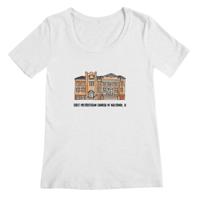 First presbyterian church Women's Regular Scoop Neck by Jodilynn Doodles's Artist Shop