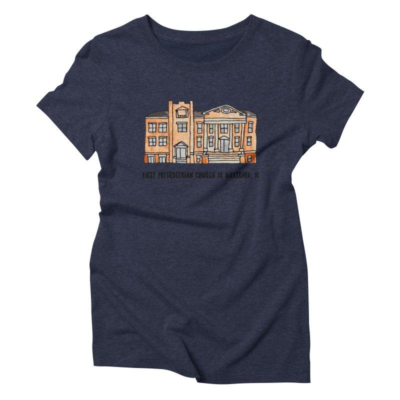 First presbyterian church Women's Triblend T-Shirt by Jodilynn Doodles's Artist Shop