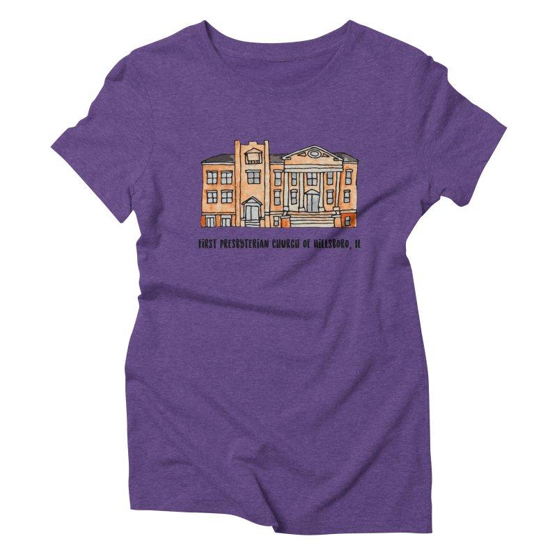 First presbyterian church Women's Triblend T-Shirt by jodilynndoodles's Artist Shop