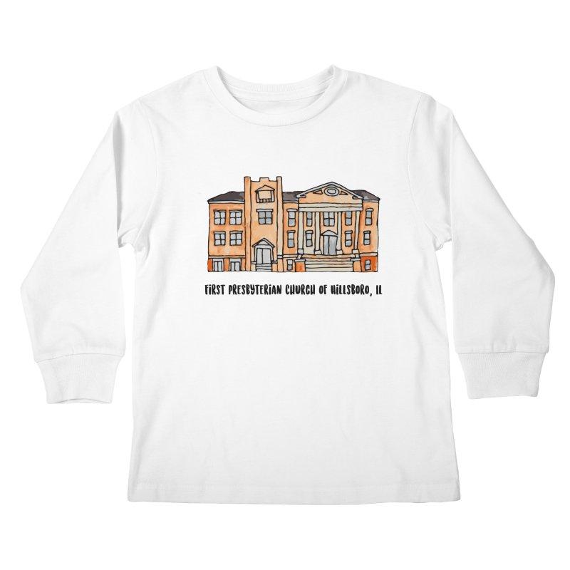 First presbyterian church Kids Longsleeve T-Shirt by jodilynndoodles's Artist Shop