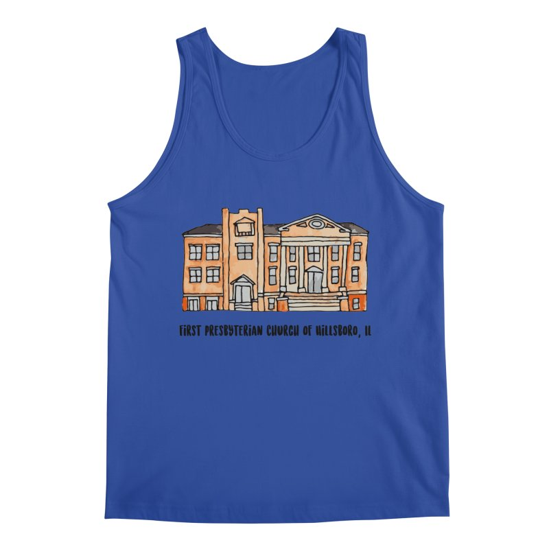 First presbyterian church Men's Regular Tank by Jodilynn Doodles's Artist Shop