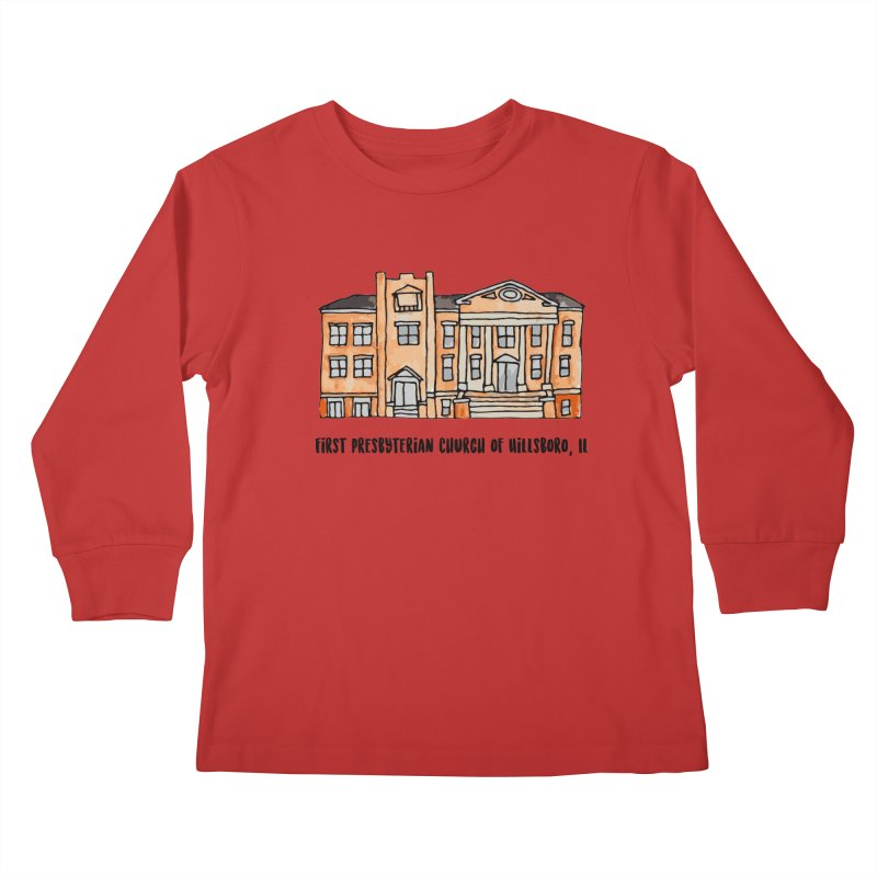 First presbyterian church Kids Longsleeve T-Shirt by jodilynndoodles's Artist Shop