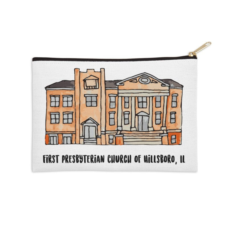 First presbyterian church Accessories Zip Pouch by jodilynndoodles's Artist Shop