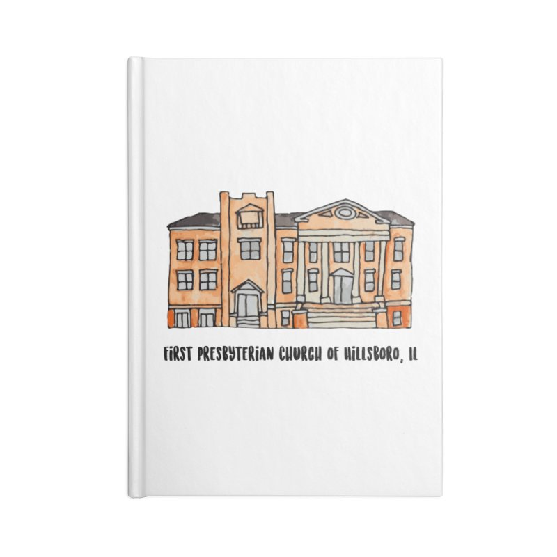 First presbyterian church Accessories Notebook by jodilynndoodles's Artist Shop